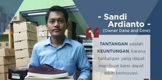 Dane and Dine: Lewat Produksi Sepatu, Pengusaha Muda Indonesia Merajai Penjualan Online