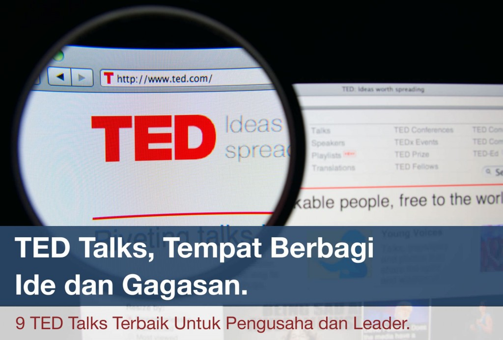 TED Talks Terbaik Untuk Pengusaha dan Leader