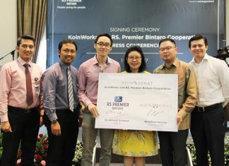 rs premier bintaro kerjasama dengan koinworks