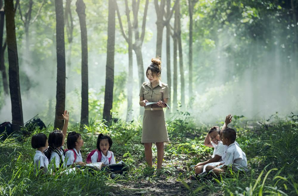 pendidikan - guru mengajar- Meraih Prestasi