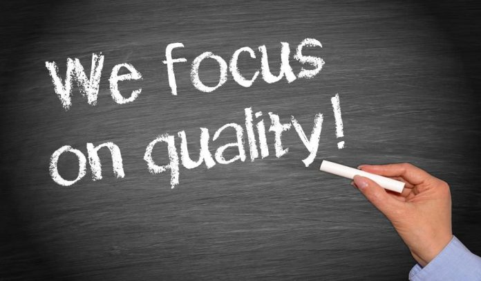 kualitas - kualitas terbaik - fokus membangun kualitas