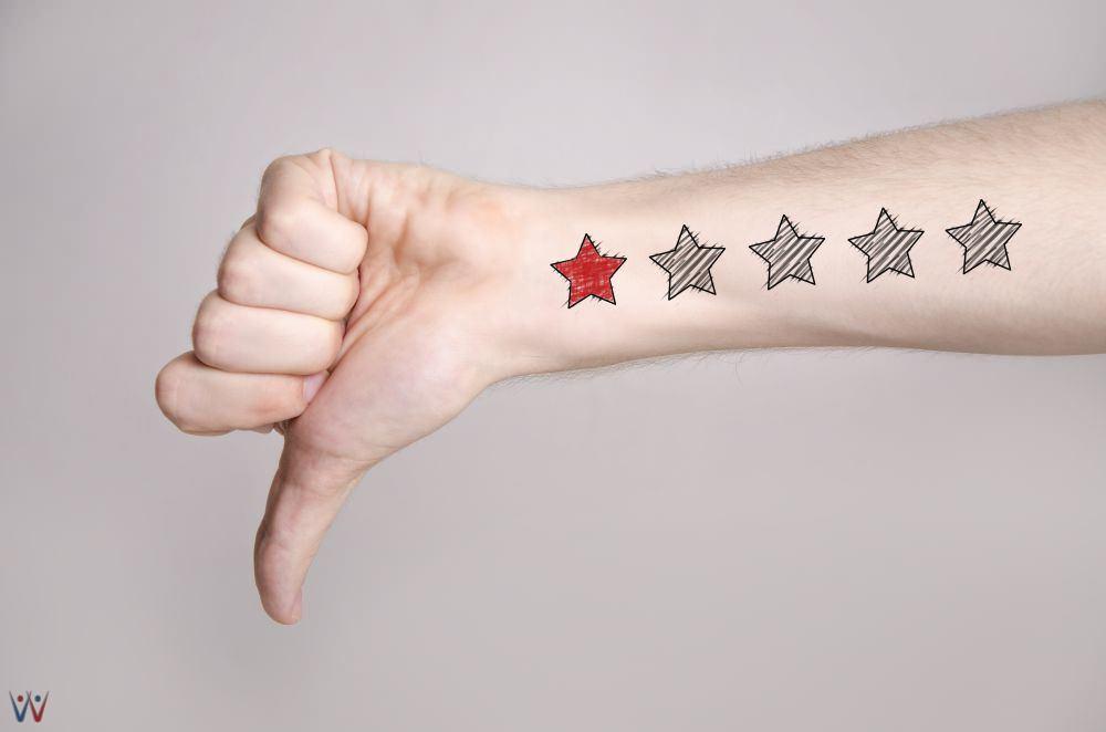 review yang buruk - feedback yang buruk - feedback negatif - membuat feedback negatif menjadi profit