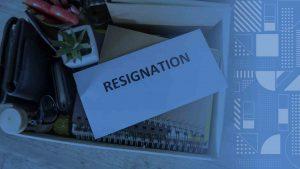 sumber penghasilan - memutuskan untuk resign