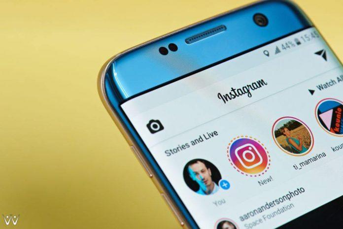 instagram story - bayar pakai exposure