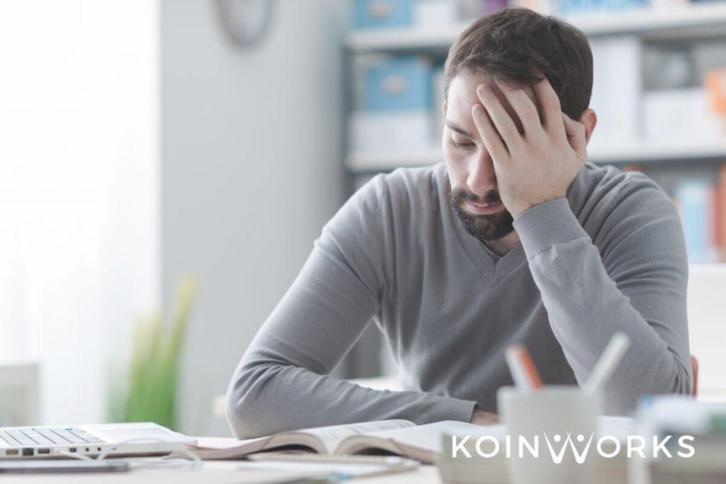 visi bisnis - ketakutan yang dialami pencari kerja - risiko yang dihadapi pebisnis - 5 Pertimbangan Sebelum Memutuskan untuk Berpindah Karier dan Pekerjaan - gagal - takut - sedih