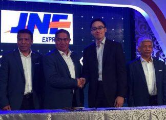 Signing Ceremony KoinWorks dan JNE - akses modal usaha
