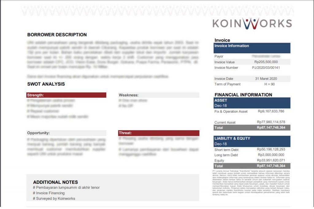fact sheet koinworks