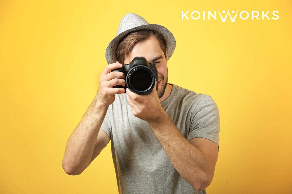 penjual foto di situs digital - Kerja Sampingan yang Cocok untuk Introvert - fotografer