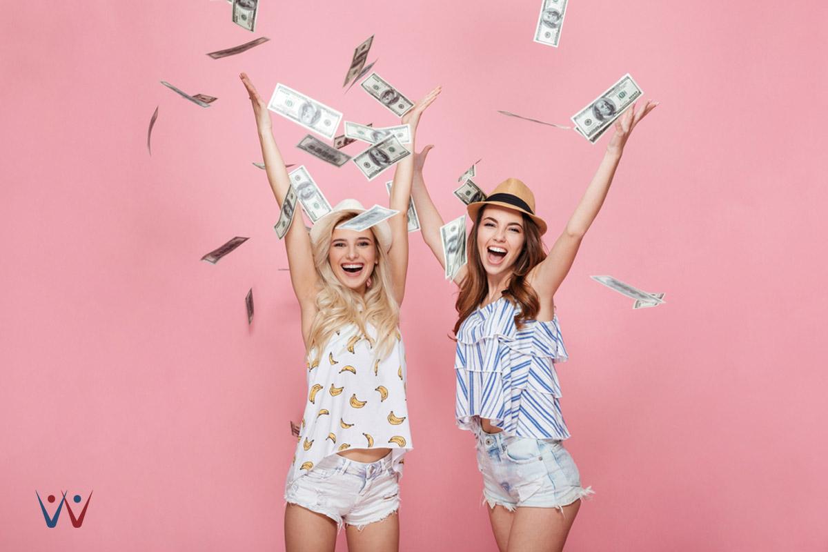 10 Hal yang Harus Diketahui Setiap Wanita tentang Keuangan 0 - 5 Alasan Orang Menghabiskan Uang yang Tidak Mereka Miliki - uang - kaya