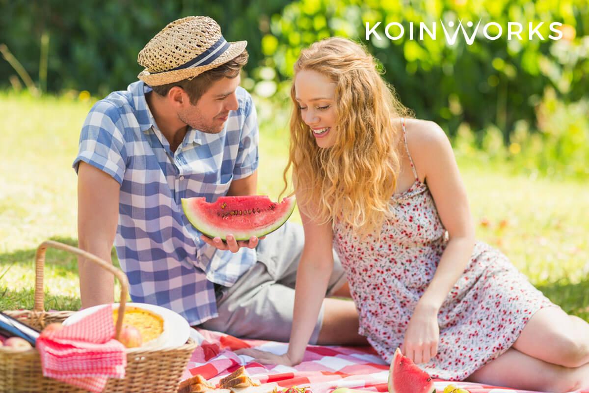 kencan hemat - piknik