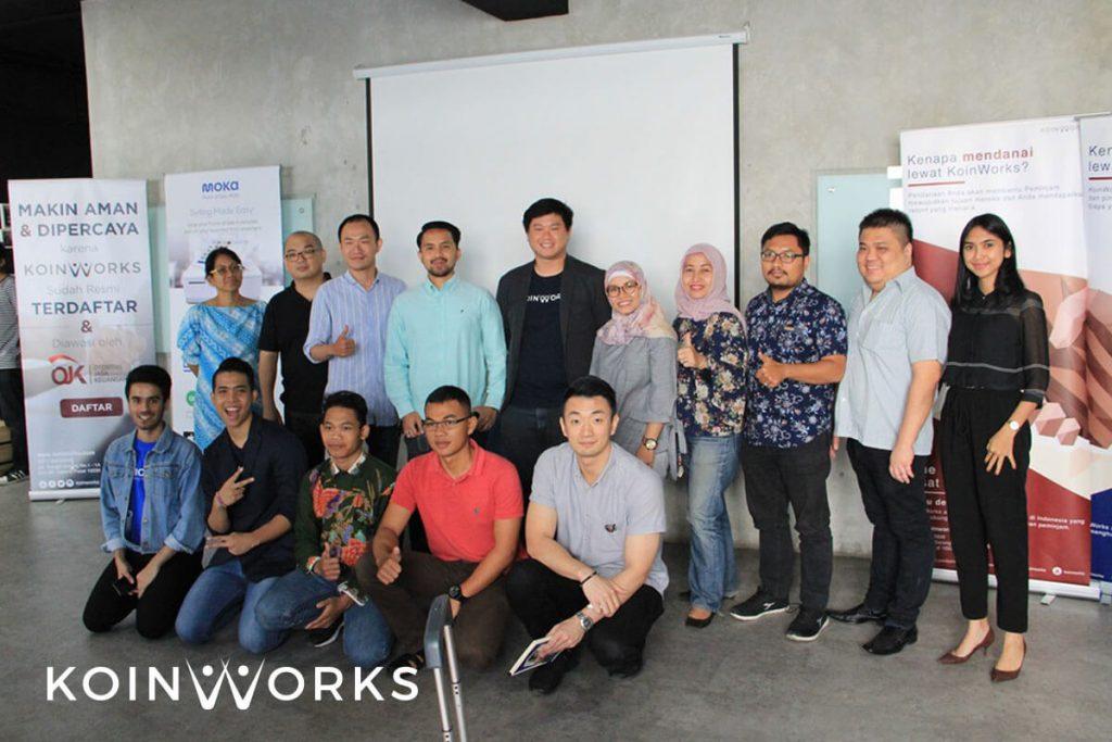 online seller meet up 4 - koinworks - mokapos - tren bisnis