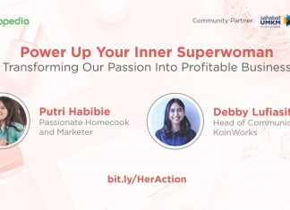 power up your inner super woman - her action - koinworks
