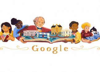 tips sukses berbisnis - george peabody - google doodle