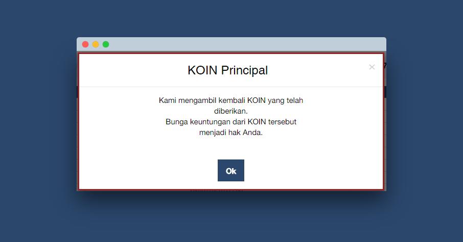 KOIN adjustment