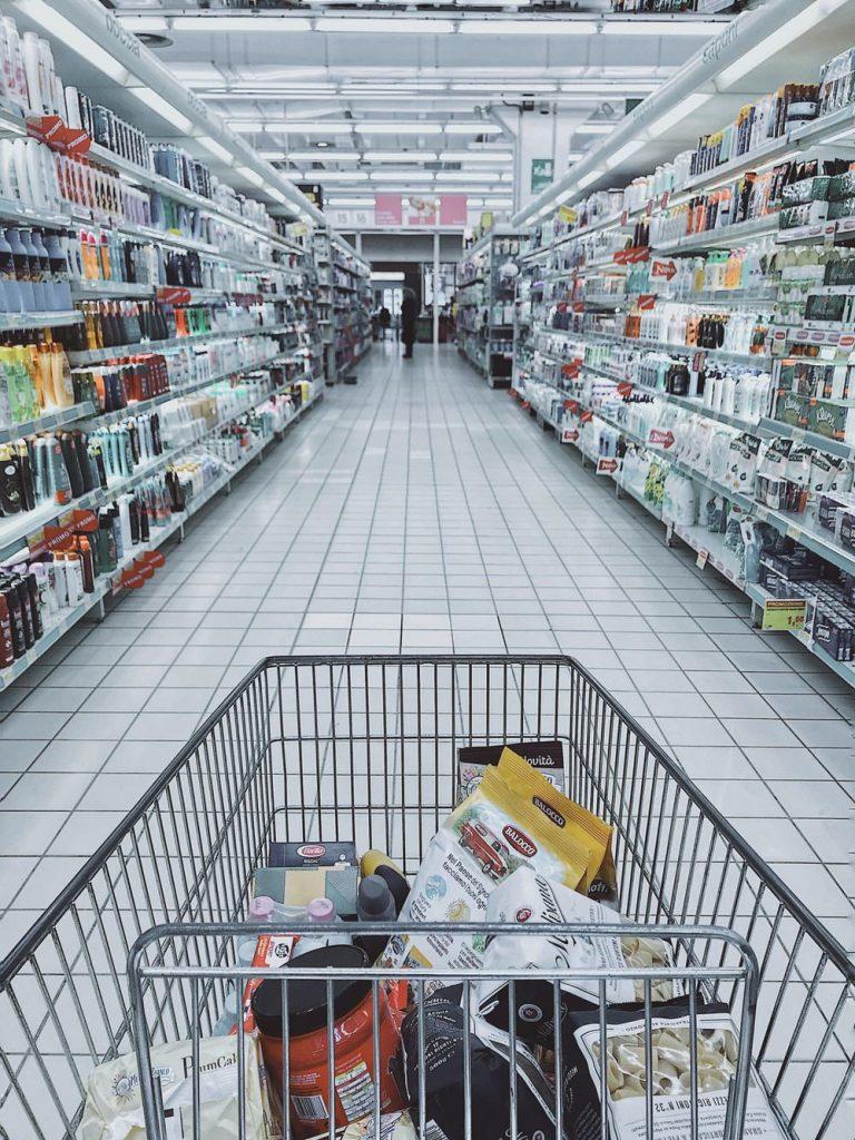 keranjang belanja - super market - swalayan