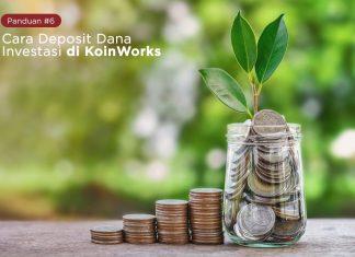panduan 6 - Cara Deposit Dana Investasi di KoinWorks