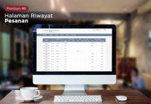 panduan 8 - Mengenal Dasbor Investor – Halaman Riwayat Pesanan