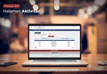 panduan koinworks halaman aktivitas