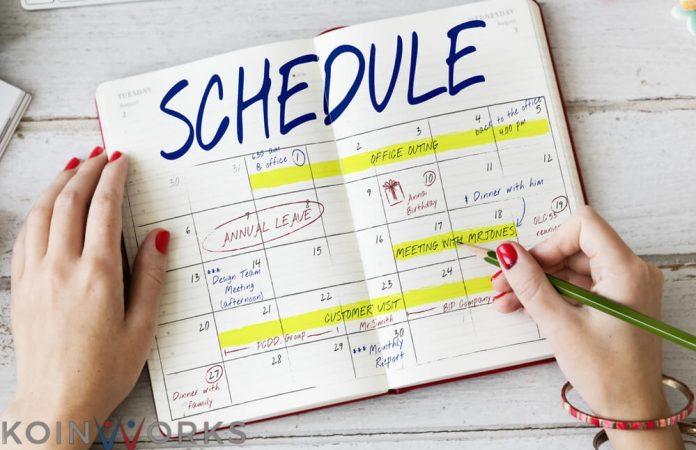 Mengelola jadwal penting untuk bisa dikuasai seseorang.