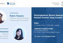 [New Event] Meningkatkan Brand Melalui Konten yang Kreatif dan Inovatif