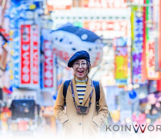 liburan foto kota senang jepang - pensiun di jepang