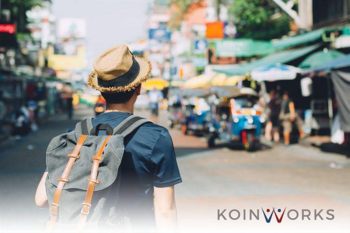 liburan sendiri pasar jalan
