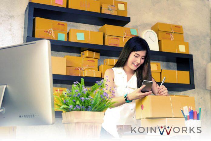 online shop-barang-kirim-paket - ide bisnis - cashless society
