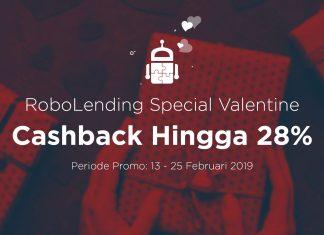Begini Cara Dapat Cashback Hingga 28% Lewat RoboLending Special Valentine...