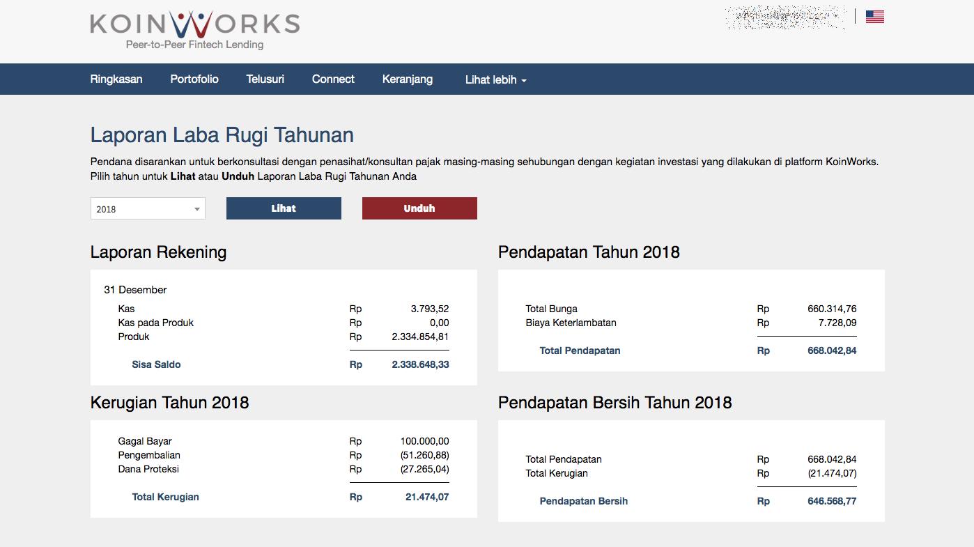 Panduan KoinWorks #12 Melihat Laporan Laba Rugi Tahunan untuk Pelaporan Pajak