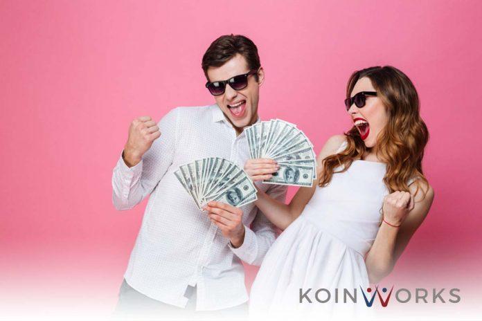 uang - pasangan - kaya - sukses - senang -