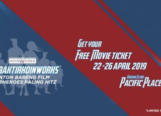 Mau #DitraktirKoinWorks Nobar Film Superheroes Paling Hitz Ini Caranya!