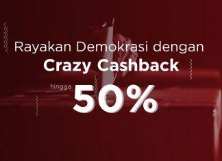 [PROMO] Vote for Indonesia! Dapatkan Cashback Sampai 50%!