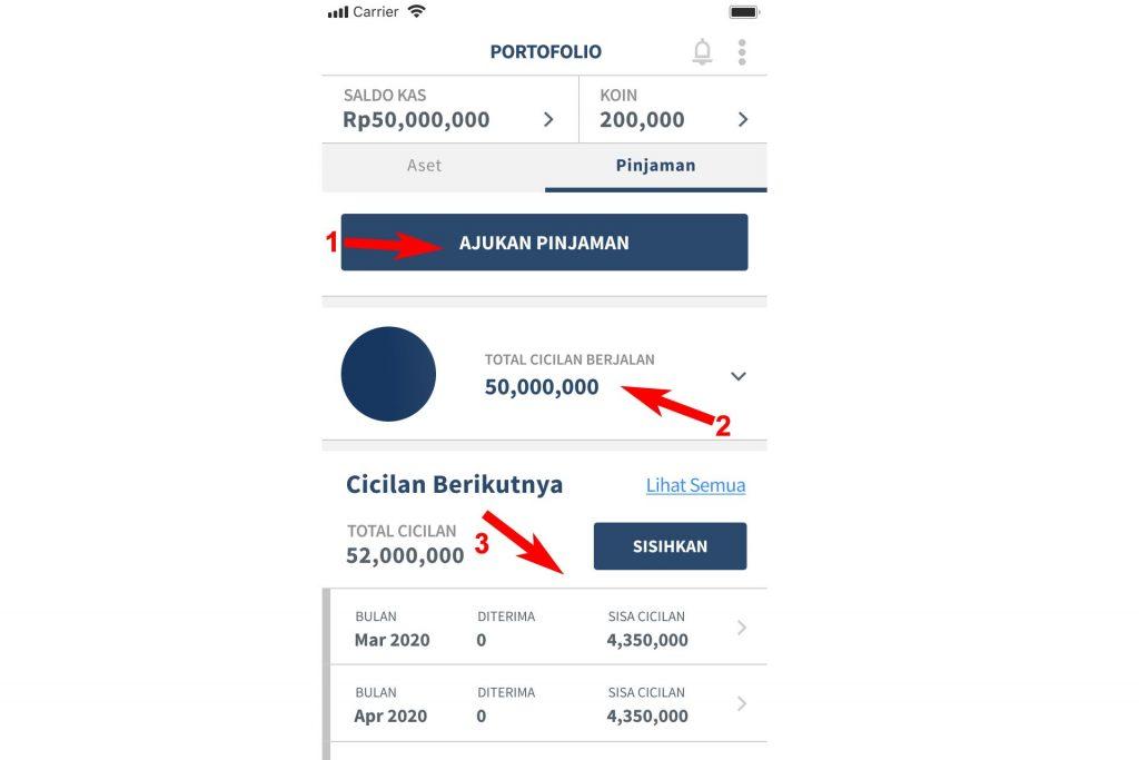 koinworks - portofolio - loan