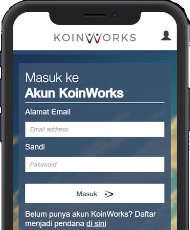 Login KoinWorks
