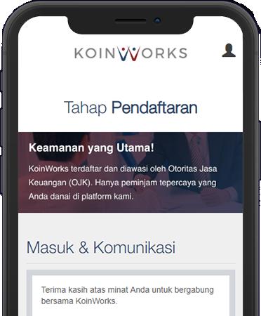 Registrasi KoinWorks