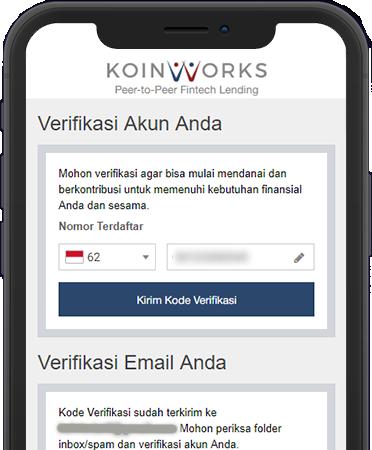 Verifikasi Akun KoinWorks
