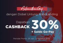 promo - cashback - saldo gopay - #selamatkangaji