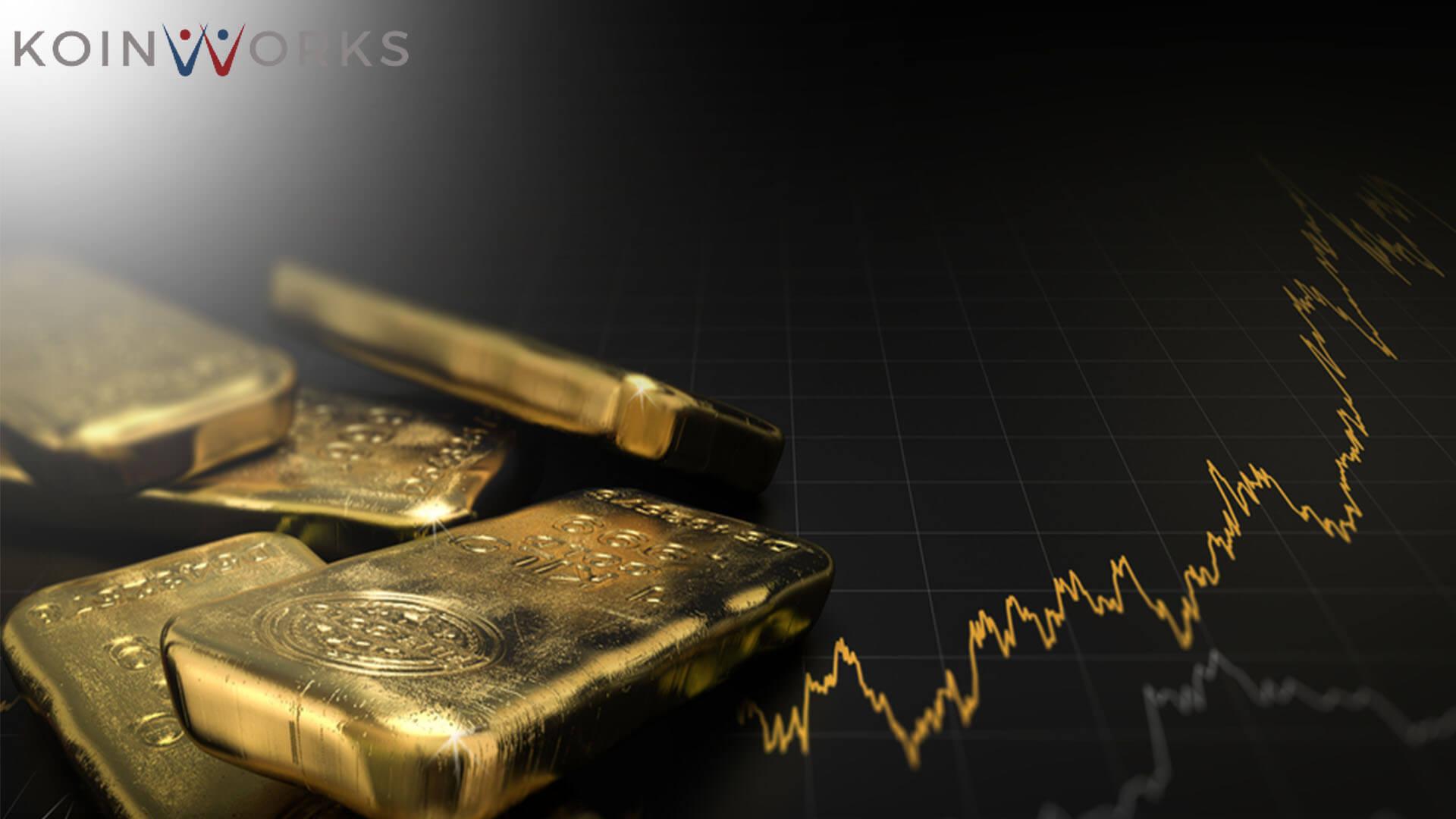 emas-investasi-nilai-grafik-naik-tingkat - tips investasi untuk gaji pas pasan- Cara Investasi Emas
