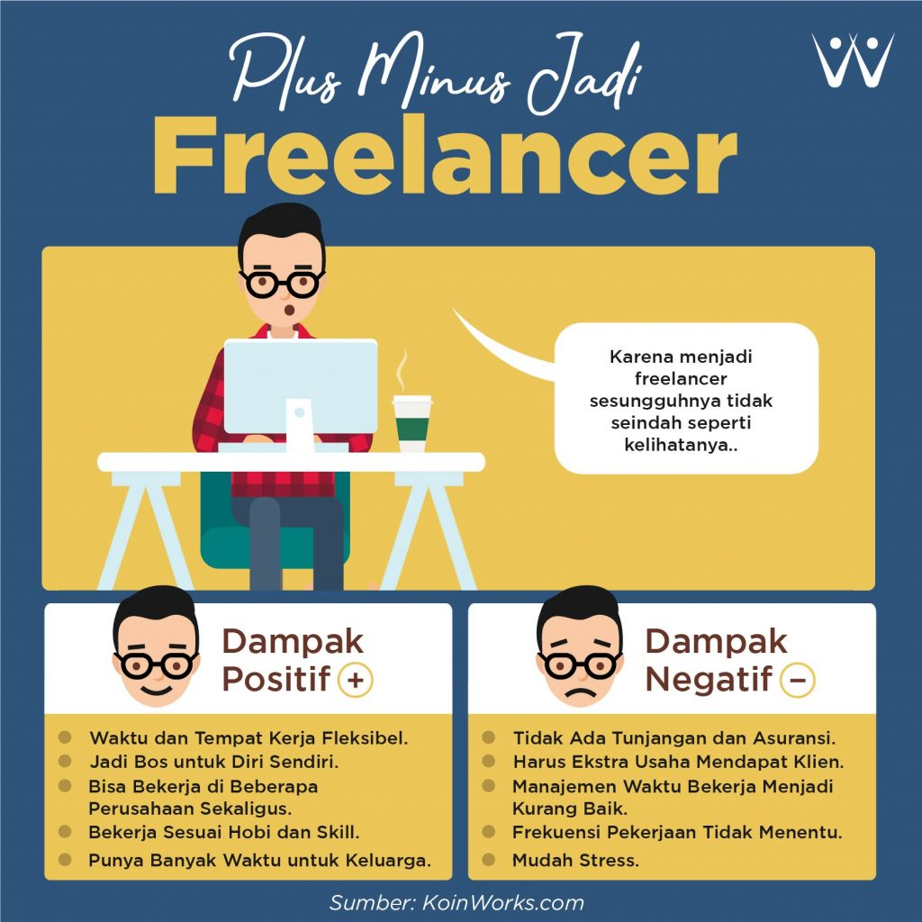 Plus minus jadi freelancer