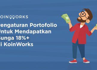 Pengaturan Portofolio Bunga 18% KoinWorks