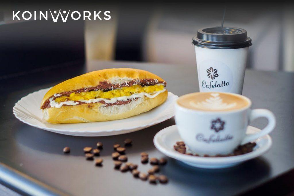 jenis pengeluaran - kopi - makanan ringan