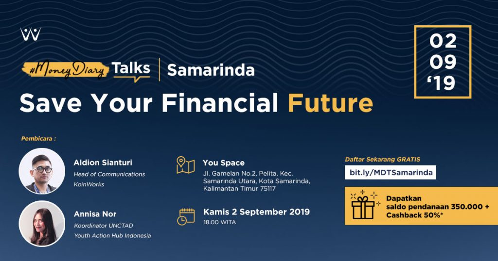 moneydiary-talks-save-your-financial-future-mdt-samarinda