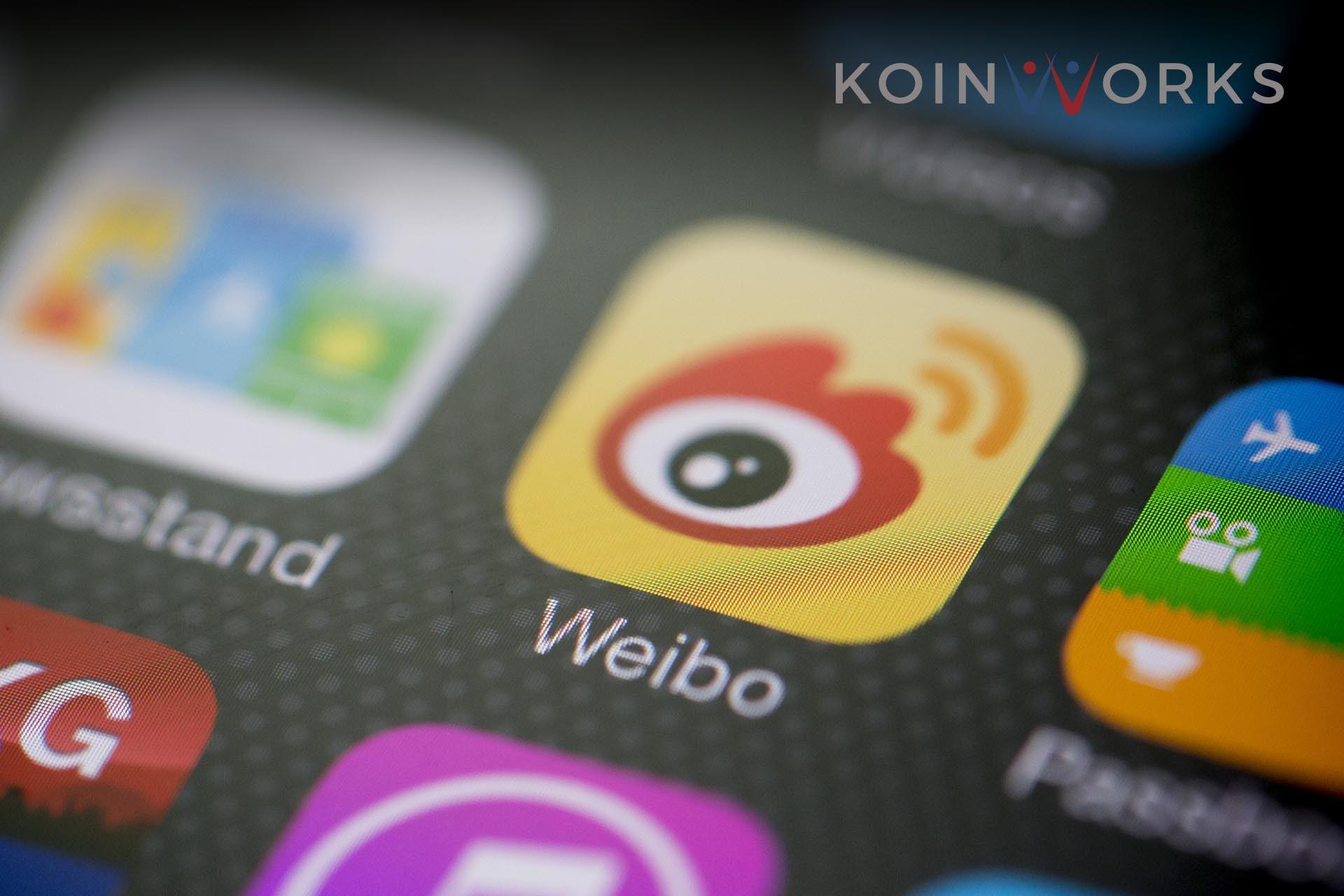 saham media sosial - weibo