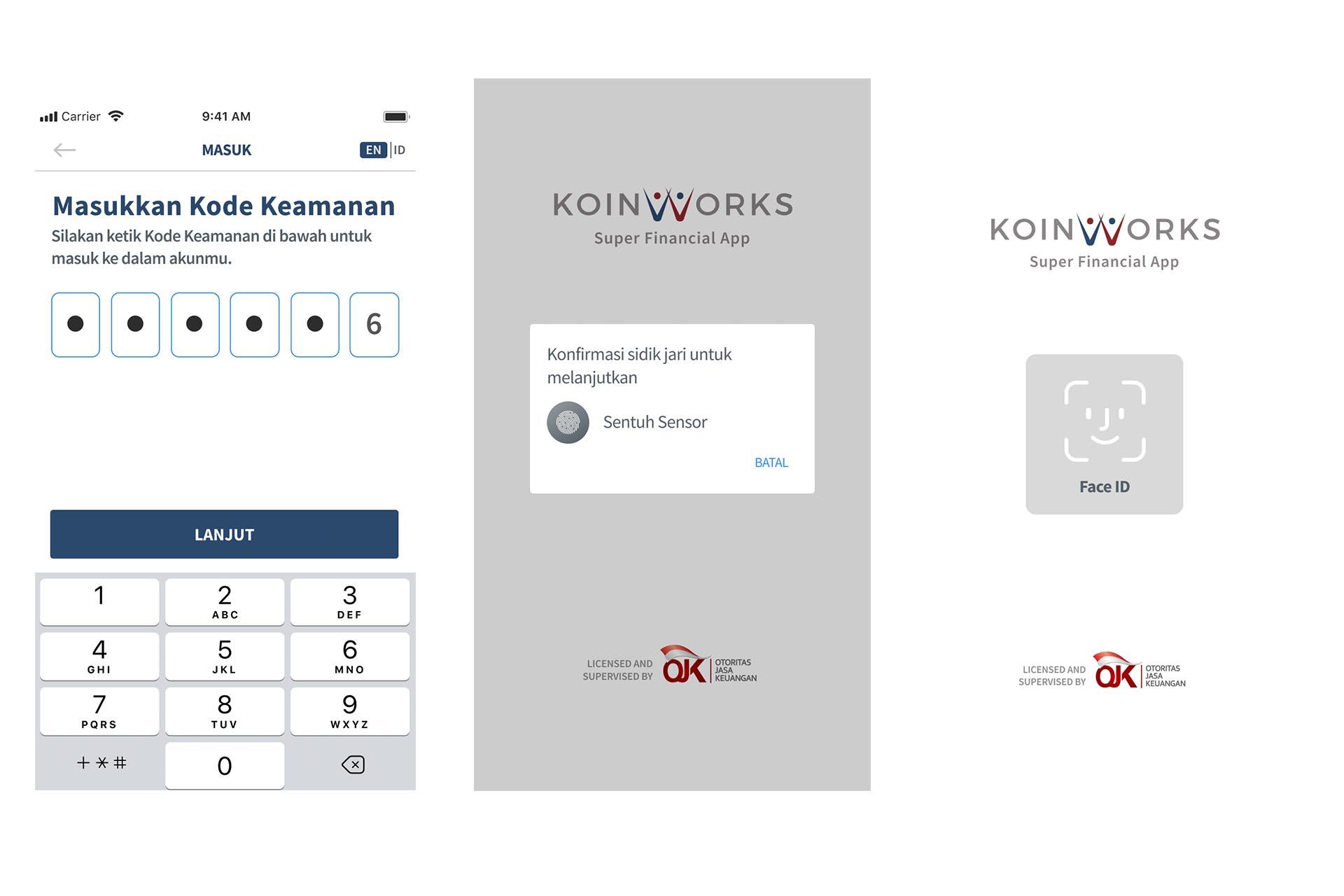 koinworks - kemanan