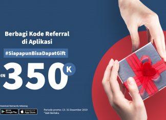 [PROMO] Berbagi Kode Referral di Aplikasi, #SiapapunBisaDapatGift KOIN 350K