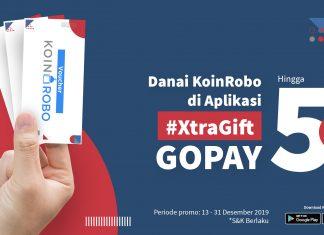 [PROMO] Danai KoinRobo di Aplikasi, #XtraGift GoPay Hingga 5 Juta!