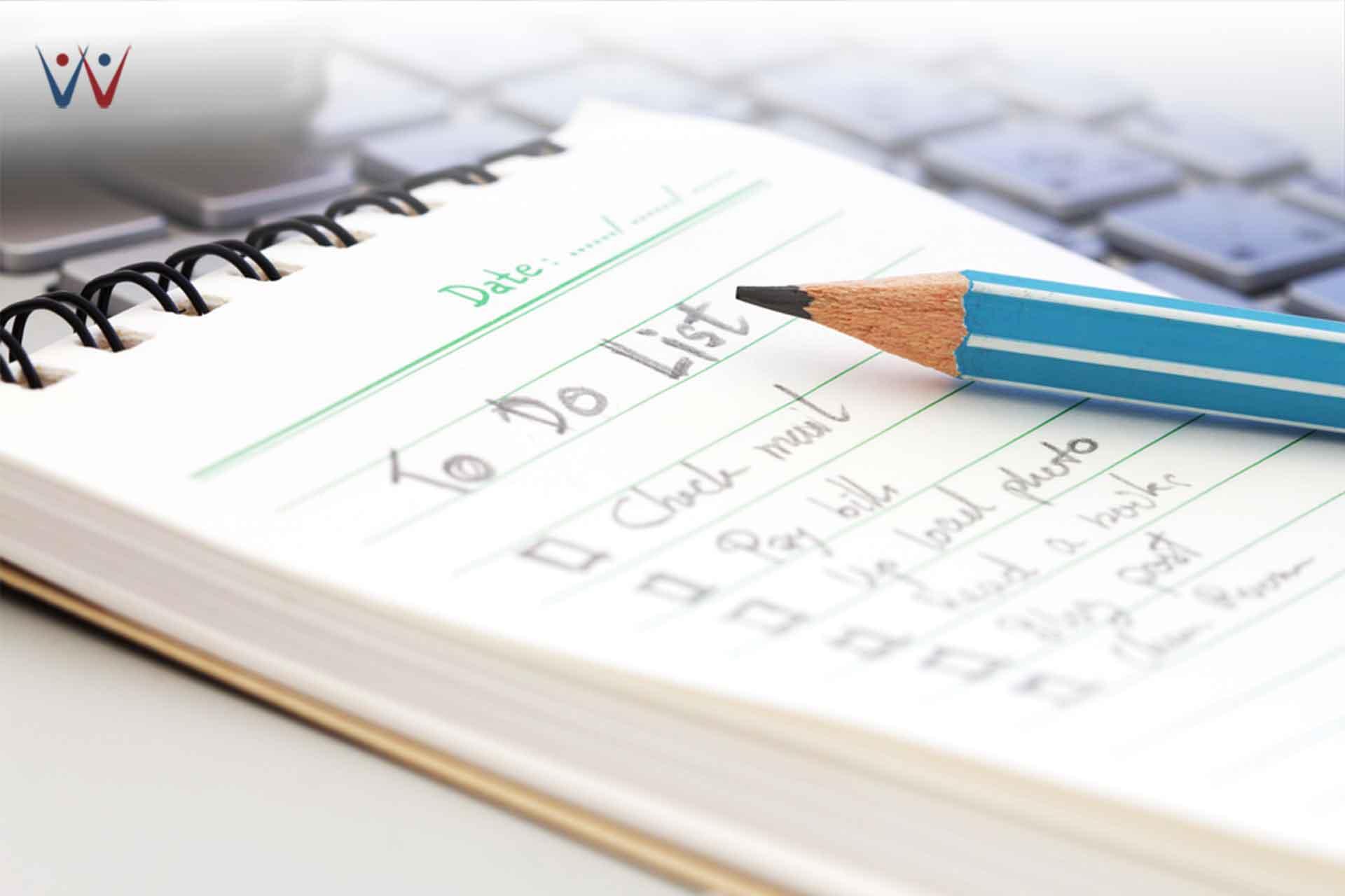 work from home - Buat Jadwal dan Daftar Pekerjaan