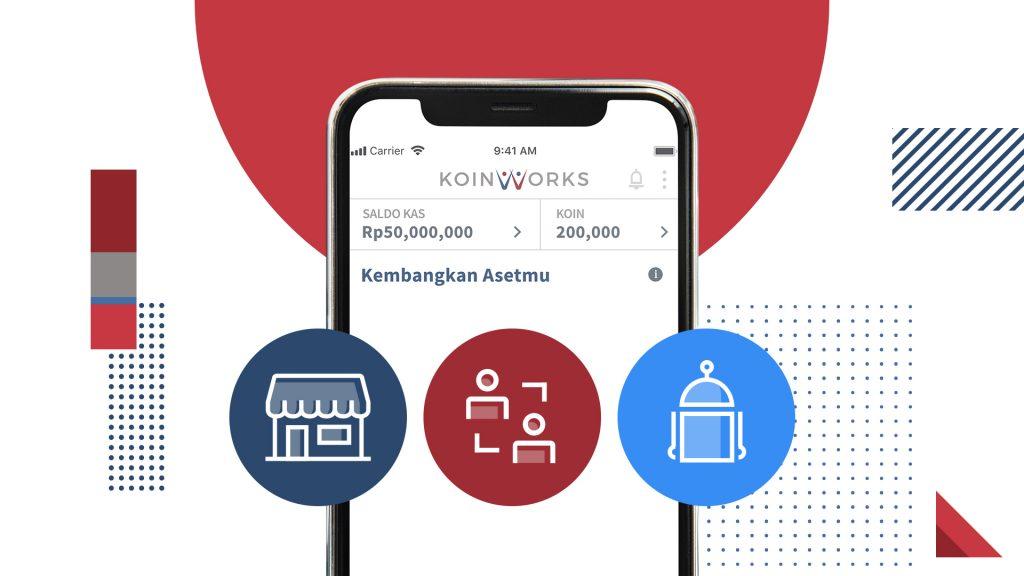 Pilih produk koinworks