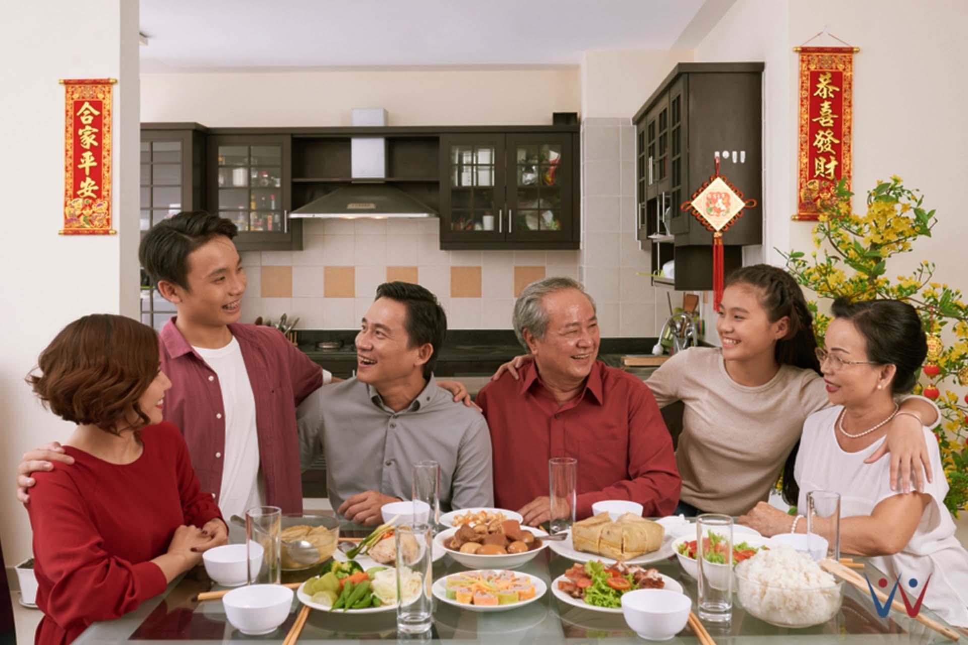 strategi marketing - imlek - keluarga - makan bersama