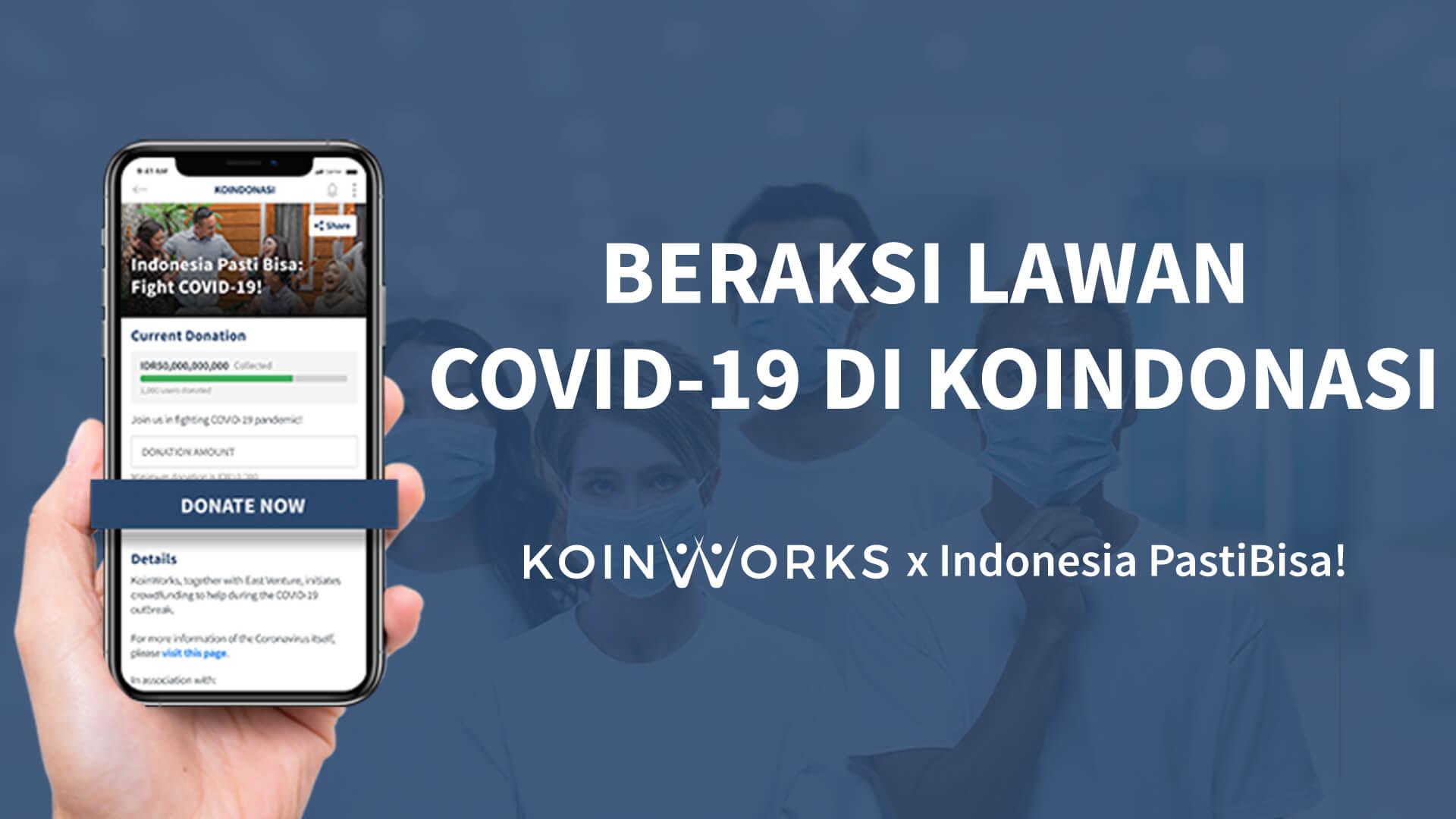 koindonasi COVID-19 corona asuransi kesehatan